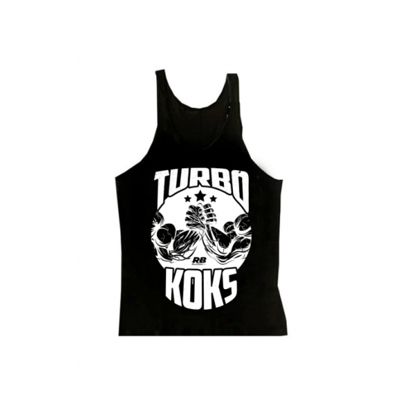 REAL WEAR TANK TOP TURBO KOKS CZARNY