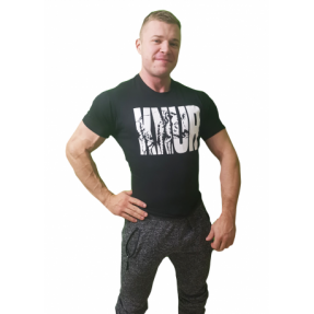 "Real Wear T-Shirt Koszulka Czarna ""Knur"""