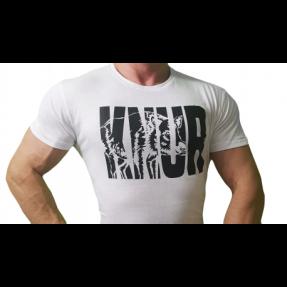 """Real Wear T-Shirt Koszulka biała """"Knur"""""""