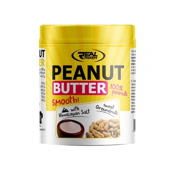 Real Pharm Peanut Butter Himalayan Salt 1000g