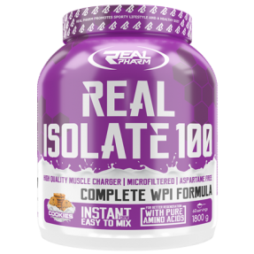 Real Pharm Real Isolate 100 - 1800g puszka