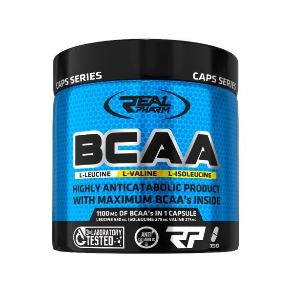 Real Pharm BCAA 1100mg 150 caps