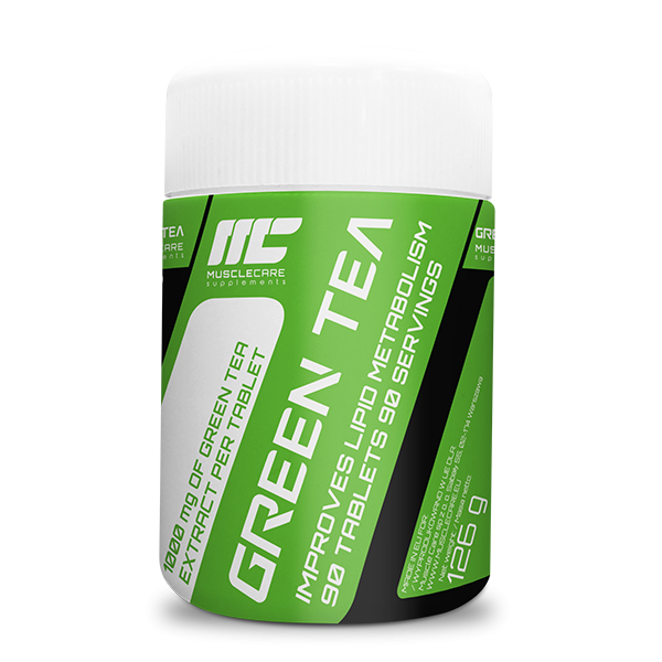 Muscle Care Green Tea - 90 tab.