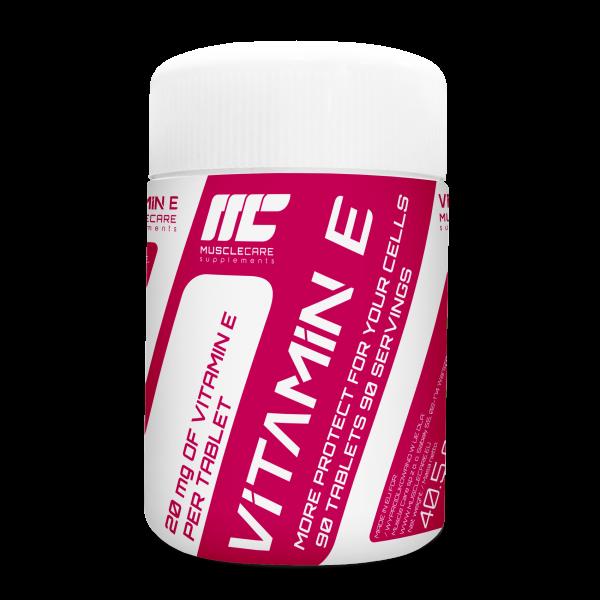 Muscle Care Vitamine E 90tabs