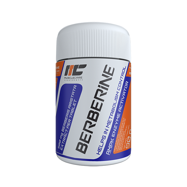 Muscle Care Berberine 500mg 90 tabs