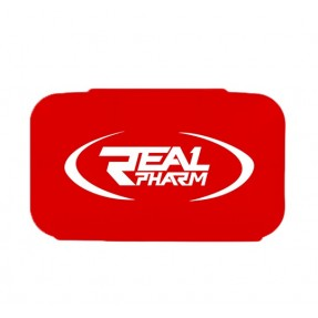 Real Pharm Pillbox RED- Pudełko na tabletki