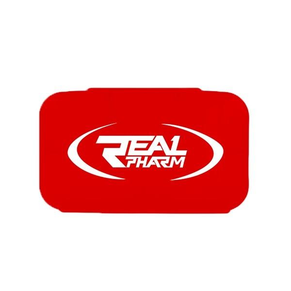 Real Pharm Pillbox RED- Pudełko na tabletki