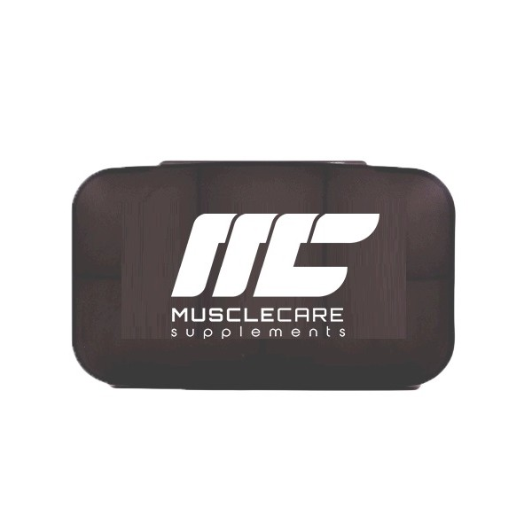 .Muscle Care Pillbox Transpa - Pudełko na tabletki