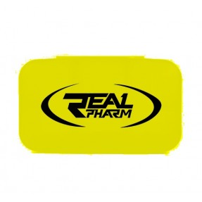 .Real Pharm Pillbox Yellow - Pudełko na tabletki