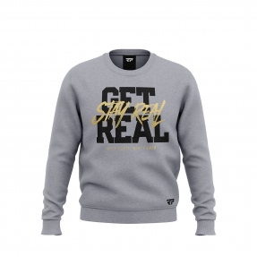Real Pharm Bluza Szara GET REAL