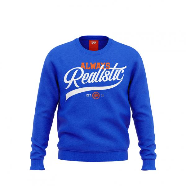 Real Pharm Bluza Always Realistic Blue