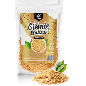Real Foods - Siemię Lniane Złote 1000g