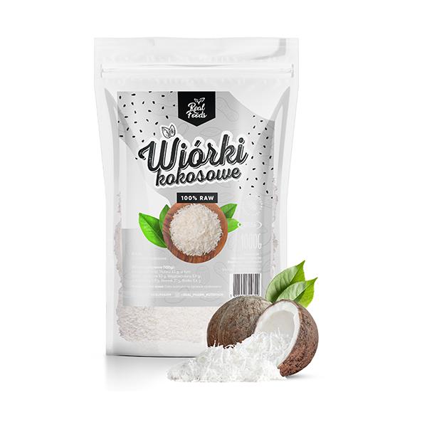 Real Foods - Wiórki kokosowe 1000g