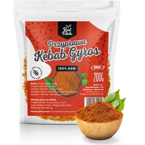 Real Foods - Przyprawa do gyrosa i kebabu 200g