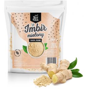 Real Foods - Imbir Mielony 200g
