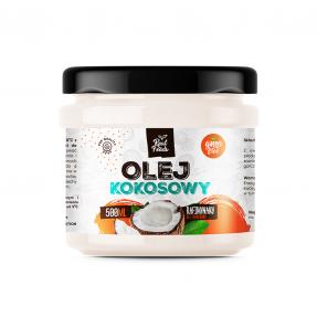 Real Foods - Olej Kokosowy Rafinowany 500ml