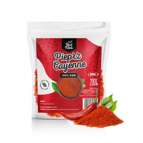 Real Foods - Pieprz Cayenne 200g