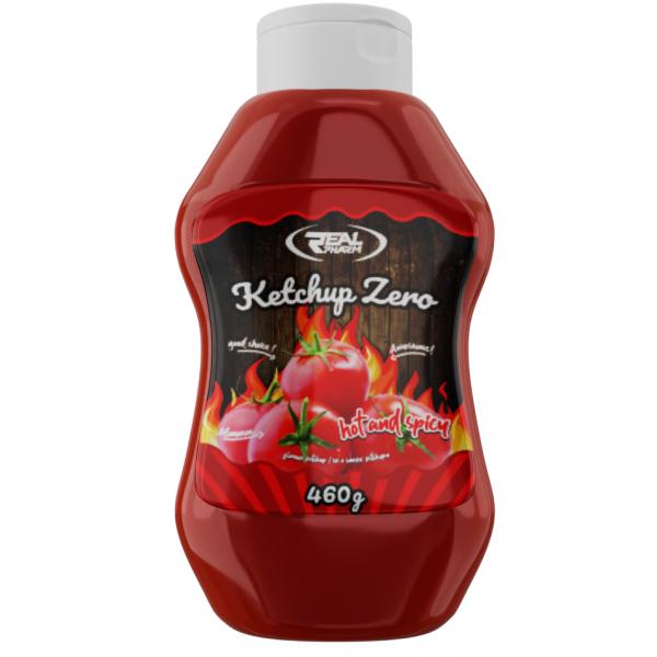 Real Pharm SOS Ketchup Ostry 460g