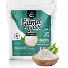 Real Foods - Guma Guar 200g