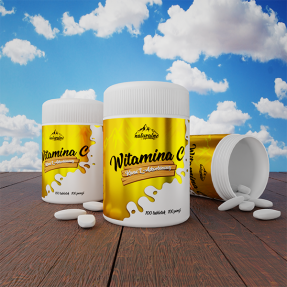 Naturalne Nutrition - Witamina C 1000 90tab