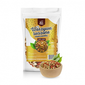 Real Foods - Warzywa suszone mix 200g
