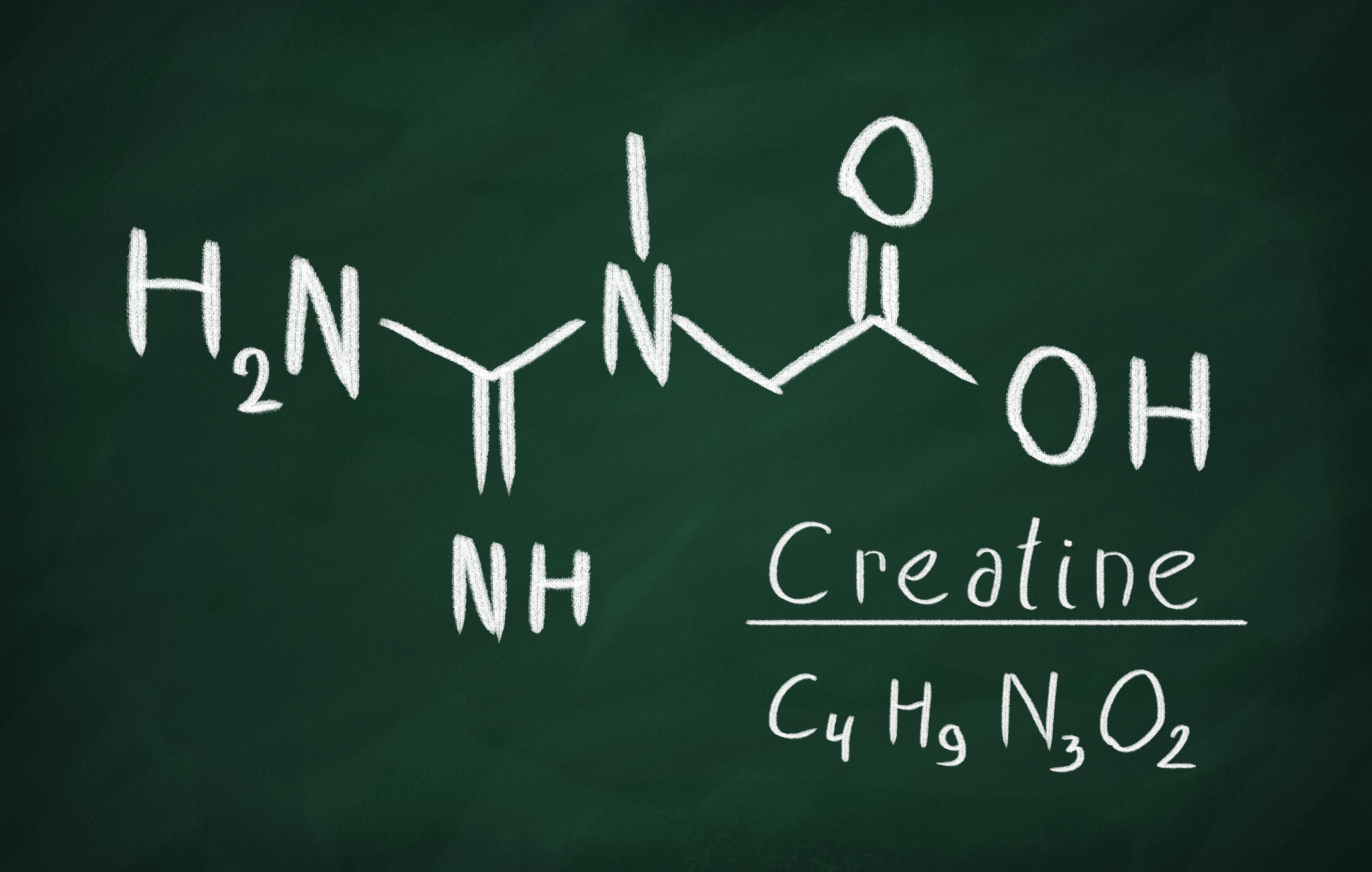 kreatyna wzór chemiczny